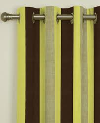 Yellow Brown Curtains Lovely Green And Brown Curtains And Striped Curtains Range
