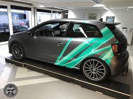 design folien die schönheitsklinik fürs auto vw polo wrc design folierung by