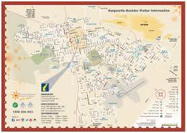 Boulder Colorado Map Map Of Kalgoorlie Boulder Kalgoorlie Boulder Tours Accommodation