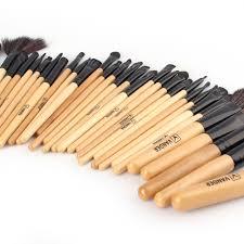 professional 32 piece kabuki make up brush set and cosmetic