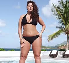 ashley graham makes history as the first plus size woman to