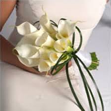 bridal bouquet gorgeous white calla bridal bouquet global