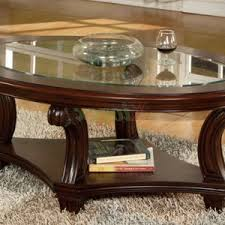 Oval Wood Coffee Tables Furniture Appealing Brass Coffee Table For Living Room Design