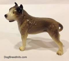 american pitbull terrier figurines collectable vintage pit bull dogs