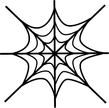 free printable spider web coloring pages for kids throughout page