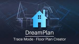Floor Plan Creator Dreamplan Home Design Floor Plan Creator Tutorial Trace Mode