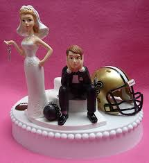 wedding cake new orleans wedding cake topper new orleans saints football themed