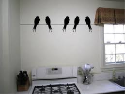 aliexpress com buy birds on a wire cool wall decals vinyl