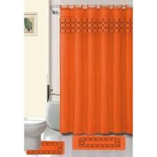 Burnt Orange Curtains Sale Orange Shower Curtains You U0027ll Love Wayfair