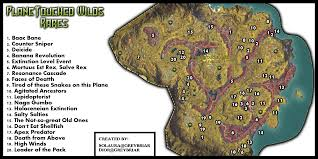 Find Map Coordinates Planetouched Wilds Rare Map And Guide