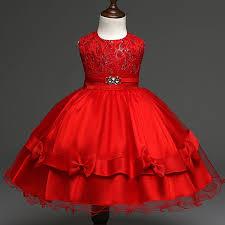 wedding wear dresses 2016 new kids party wedding wear dress brand designer birthday