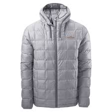 kathmandu yatra mens hooded goose down winter coat packable travel