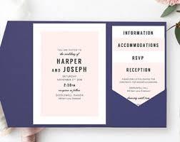 Wedding Pocket Invitations Pocket Invite