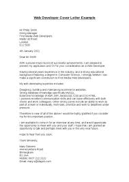 css developer cover letter