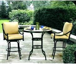 bar top patio furniture equinox high dining side chair bar top patio