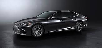 lexus luxury sports car lexus to exhibit all new ls flagship and to premiere concept car