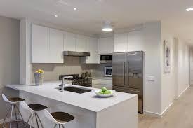 condo kitchen design countertop left bank design20 dashing and