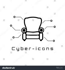 Comfort Icon Comfort Icon Style Cyber Concept Technology Stock Vector 677090029