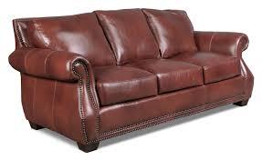 Maroon Leather Sofa Park Avenue Sofa Scotch Levin Furniture
