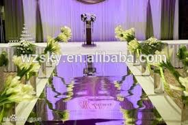 Wedding Aisle Runners Customer Well Received Mirror Wedding Aisle Runner For Decoration