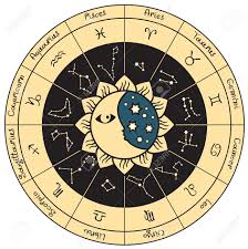 circle of the zodiac royalty free cliparts vectors and stock
