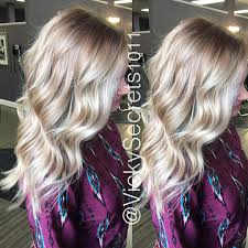 gorgeous melted root with balayage highlights hair pinterest