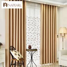 aliexpress com buy linen curtains modern blackout living room