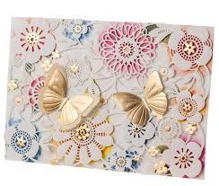 Butterfly Invitations Laser Cut Wedding Invitations Card Elegant Paper Diy Butterfly