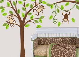 Removable Wall Decals For Nursery 14 Monkey Wall Decal Wall Decals Nursery Nursery Wall Decal Tree