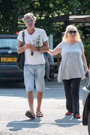 Judy Light Judy Finnigan Beams As She Walks Arm In Arm With Richard Madeley