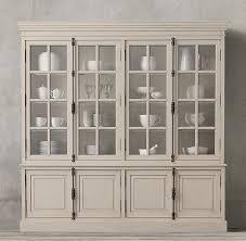 restoration hardware china cabinet casement 4 door sideboard hutch