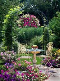 Pretty Garden Ideas Pretty Garden Looks So Lovely And Peaceful For A