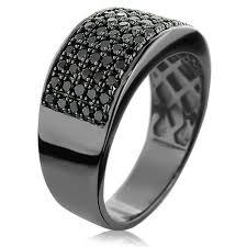 mens black diamond wedding bands mens black diamond wedding rings wedding corners