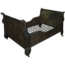 french cast iron sleigh bed from a unique collection of antique