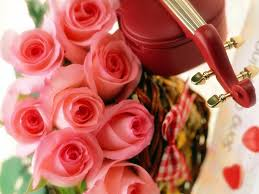 valentines day and roses flowers magazine