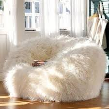 cute bean bag chairs adorable white fur bean bag chair for teen girl extraordinary