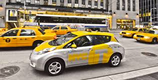 new nissan leaf nissan leaf new york taxi pilot launched photos 1 of 7