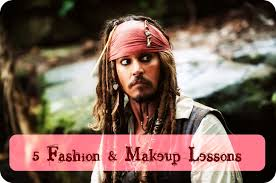 how to create a captain jack sparrow pirate costume 5 things jack sparrow taught me about fashion makeup