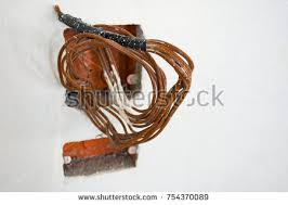 power outlet red wall stock images royalty free images u0026 vectors