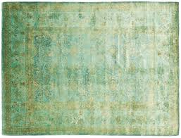 Green Persian Rug Over Dyed Persian Rugs Rug Designs