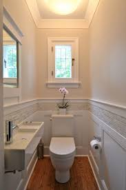 Houzz Tiny Bathrooms Houzz Small Bathrooms Powder Room Traditional With Crown Molding