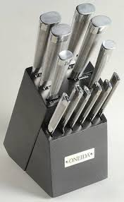 oneida kitchen knives oneida performance collection stainless at replacements ltd