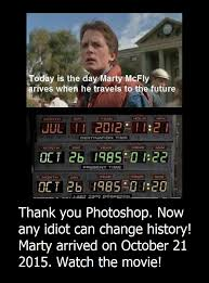 something geeky this way comes back to the future meme corrected