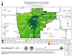 Map Of Counties In Illinois by Sangamon County Map U2014 Broadband Illinois