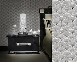 chambre tapisserie deco papier peint feather fan de cole and wallpapers