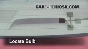 2010 toyota corolla brake light bulb third brake light bulb change toyota corolla 2003 2008 2007
