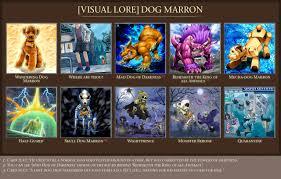 dog marron visual yugioh lore v2 by rolvak on deviantart