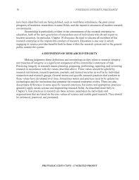 how to write a hypothesis in research paper 2 foundations of integrity in research core values and guiding page 30