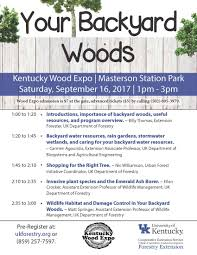 kentucky wood expo forestry and natural resources