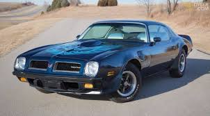 pontiac trans am coupe 1974 blue for sale dyler